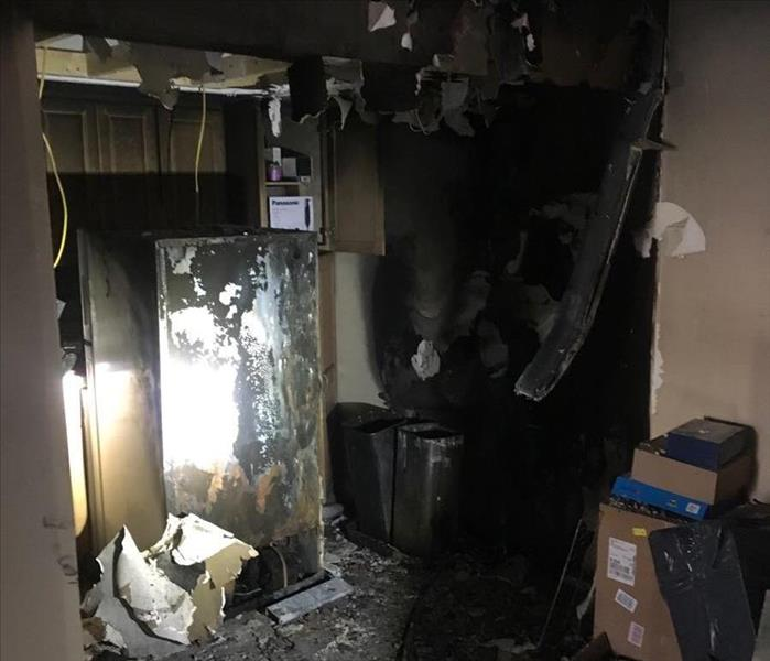 Kitchen Fire Effects Entire Indialantic Condo Before