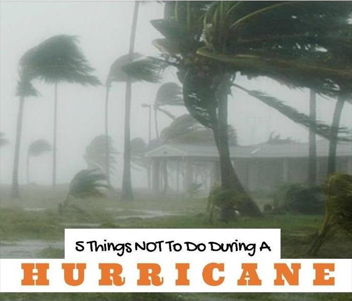 Storm Damage 5 Things Not To Do During a Hurricane